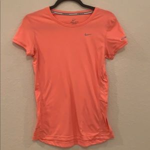 Nike Running Women's XS Dry Fit Top -Coral Pink